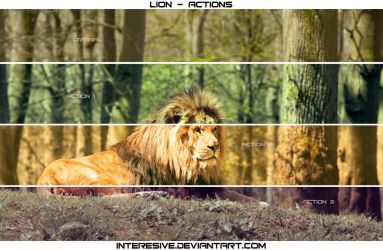 Lion - Actions by interesive