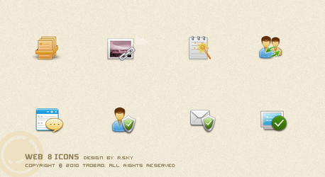 Web 8 icons by Rskys
