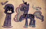 Raven and Luna by AbbyCatWolff