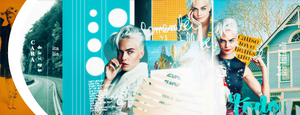 Timeline Cara Delevingne by MartuGraphic