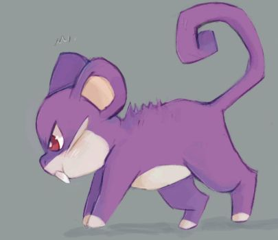 Rattata  by meowing-ghost
