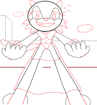 Free to use Base: Giant Woman Perspective One by JaredtheFox92
