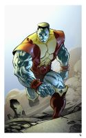 Colossus coloured by spidermanfan2099