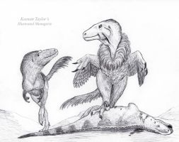 ''Please, Mam: can you spare some Gryposaurus?'' by IllustratedMenagerie