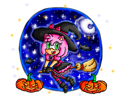 halloween amy by ninpeachlover
