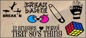 That 80's thing by daintyish