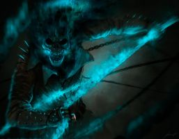 Ghost rider (Spirit of Vengeance) by LouizBrito