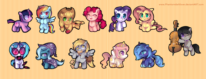MLP - Who will you choose? by pekou