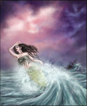Angel of the Sea by Elitha