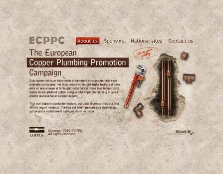 Copper plumbing site v2 by floydworx