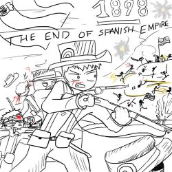 The End Of Spanish Empire (1898) by Daniel1944