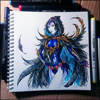 Instaart - Raven by Candra