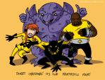 Fantastic Four by claudetc