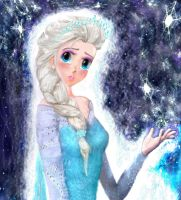 I will be my own hero - Snow Queen Elsa by 000SkyArrow000