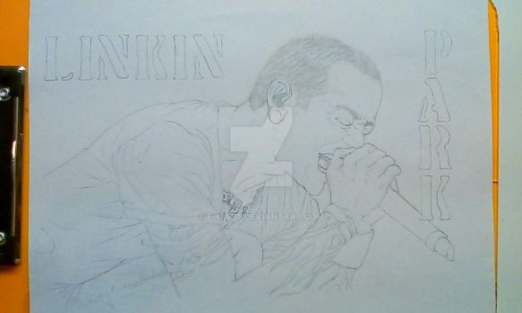 Tribute to Chester WIP by E-Matt
