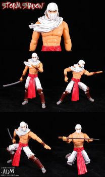 Shirtless Storm Shadow by Jin-Saotome