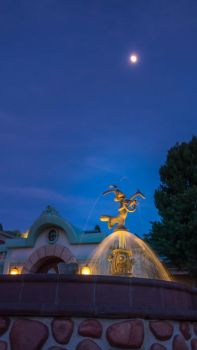 Toontown Rodger Rabbit Fountain by DirtySweetRazz