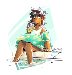 Pool Day by BeefBirb