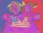 2 Headed Monster (2016 US Election) by gavacho13