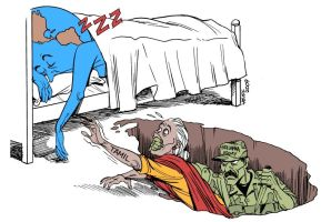 Tamil Massacre in Sri Lanka by Latuff2