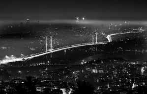 fog over istanbul by petted