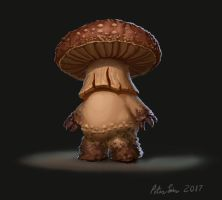 Poison Mushroomman by EnemyDesign