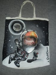 LEAGUE of LEGENDS -  Astronaut Teemo by ChilliEleen