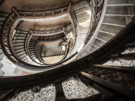 Stairs by Inilein