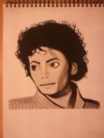 Michael Jackson Portrait by DOGGMAFFIA