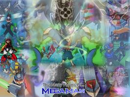 The Many Forms of Mega Man by GMLink