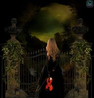 Cemetery gate by Rajesh98