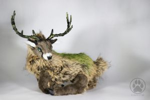 Shinrin the Great Forest Stag Artdoll OOAK by CreaturesofNat