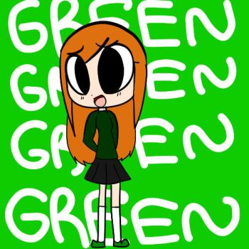 Green by TheMagicCupcake