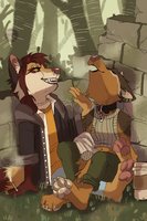 After Work by cyber--hound