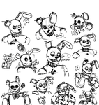 Springtrap Expression Sheet by Funklebird