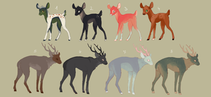 Oh Deer Atopts by nerfusia