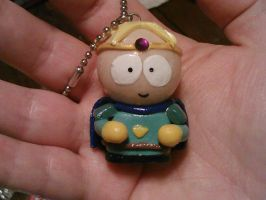 Paladin Butters polymer clay figurine by ShadyDarkGirl