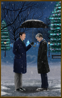 Mystrade ~ Christmas Eve by RedPassion