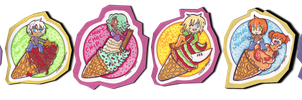 All the flavours by CreatoreMagico
