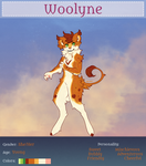 Tiny Registration Sheet *COMMUNITY WOOLYNE* by Verlidaine