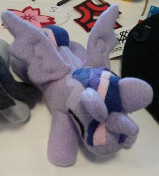 Twilight Sparkle plushie MLP Friendship is Magic by StormyNight79