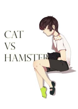 Cover: Cat vs Hamster by Drawum