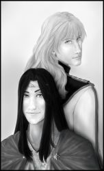 Tesynnodai and Alestere by Karis-Surya