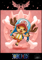 One Piece cards : Chopper by Lily-Fu