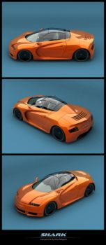 SHARK - Concept Car by Deligaris