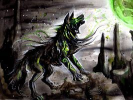 Shadow Wolf by Lucky978
