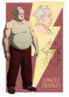 YOUNG JUSTICE: UNCLE DUDLEY by Jerome-K-Moore