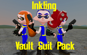 Inkling Vault Suit Pack by DarkMario2