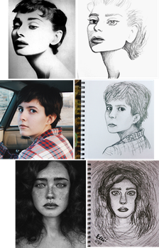 Portraits by wingedmusician