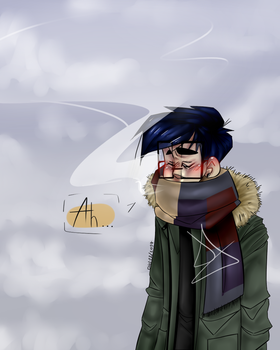 IT'S COLD OUTSIDE. by l2naa
